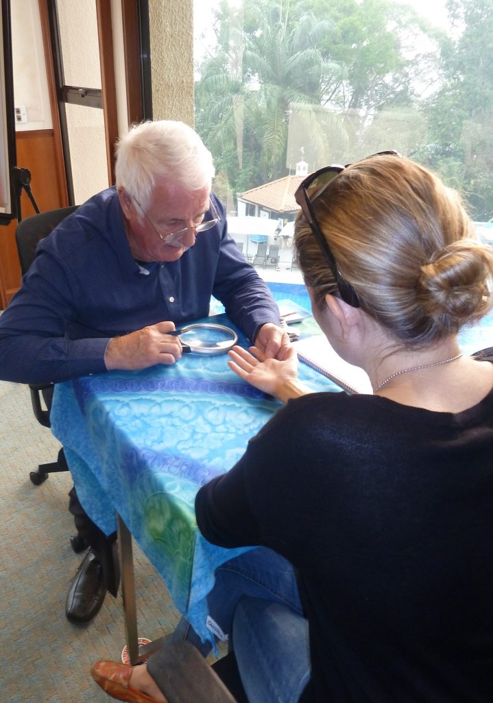 Private palmistry and numerology readings